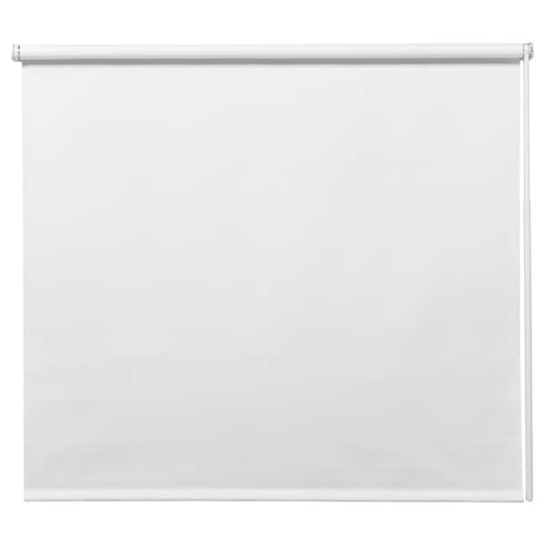 FRIDANS Verdunklungsrollo, weiß, 80x195 cm