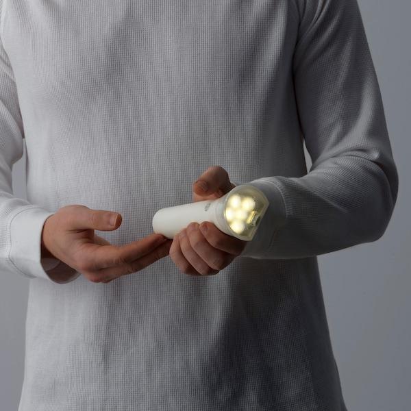 FRYELE Taschenlampe, LED aufladbar weiß 200 lm 165 mm 32 mm