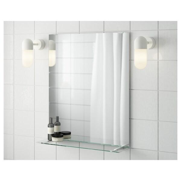 FULLEN Spiegel mit Glasablage, 50x60 cm