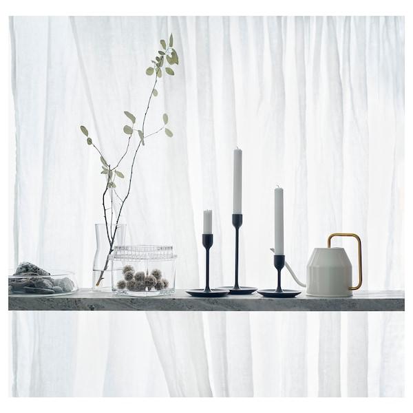 FULLTALIG Kerzenständer 3er-Set, schwarz
