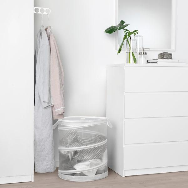 FYLLEN Wäschekorb, weiß, 79 l