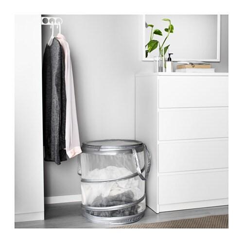 Ikea Wäschebox ikea wäschesack wäschesammler wäschekorb wäschebox aufbewahrung