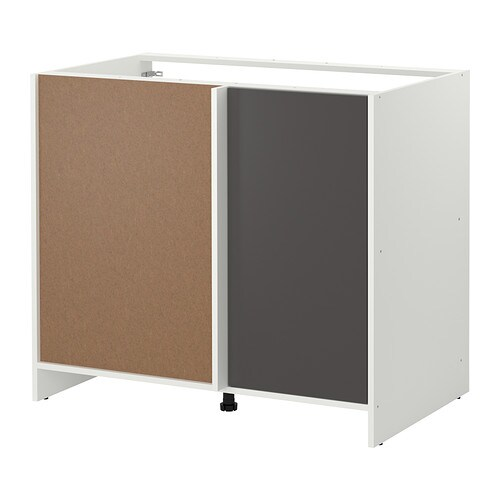 fyndig eckunterschrank wei grau ikea. Black Bedroom Furniture Sets. Home Design Ideas