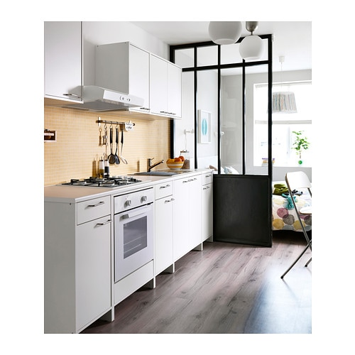ikea fyndig unterschrank f r backofen wei k chenschrank sp le k che schrank neu ebay. Black Bedroom Furniture Sets. Home Design Ideas