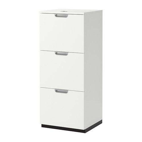 Aktenschrank weiß  GALANT Aktenschrank - weiß - IKEA