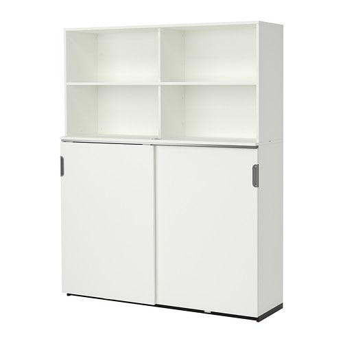 Ikea Galant Jalousieschrank Weiß ~ GALANT Aufbewahrung mit Schiebetüren  weiß  IKEA