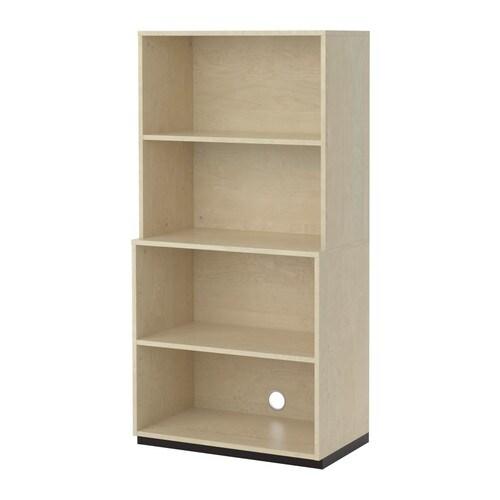 galant aufbewahrungskomb offen birkenfurnier ikea. Black Bedroom Furniture Sets. Home Design Ideas