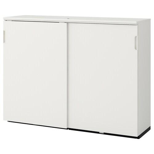 GALANT Schiebetürenschrank weiß 160 cm 45 cm 120 cm 30 kg