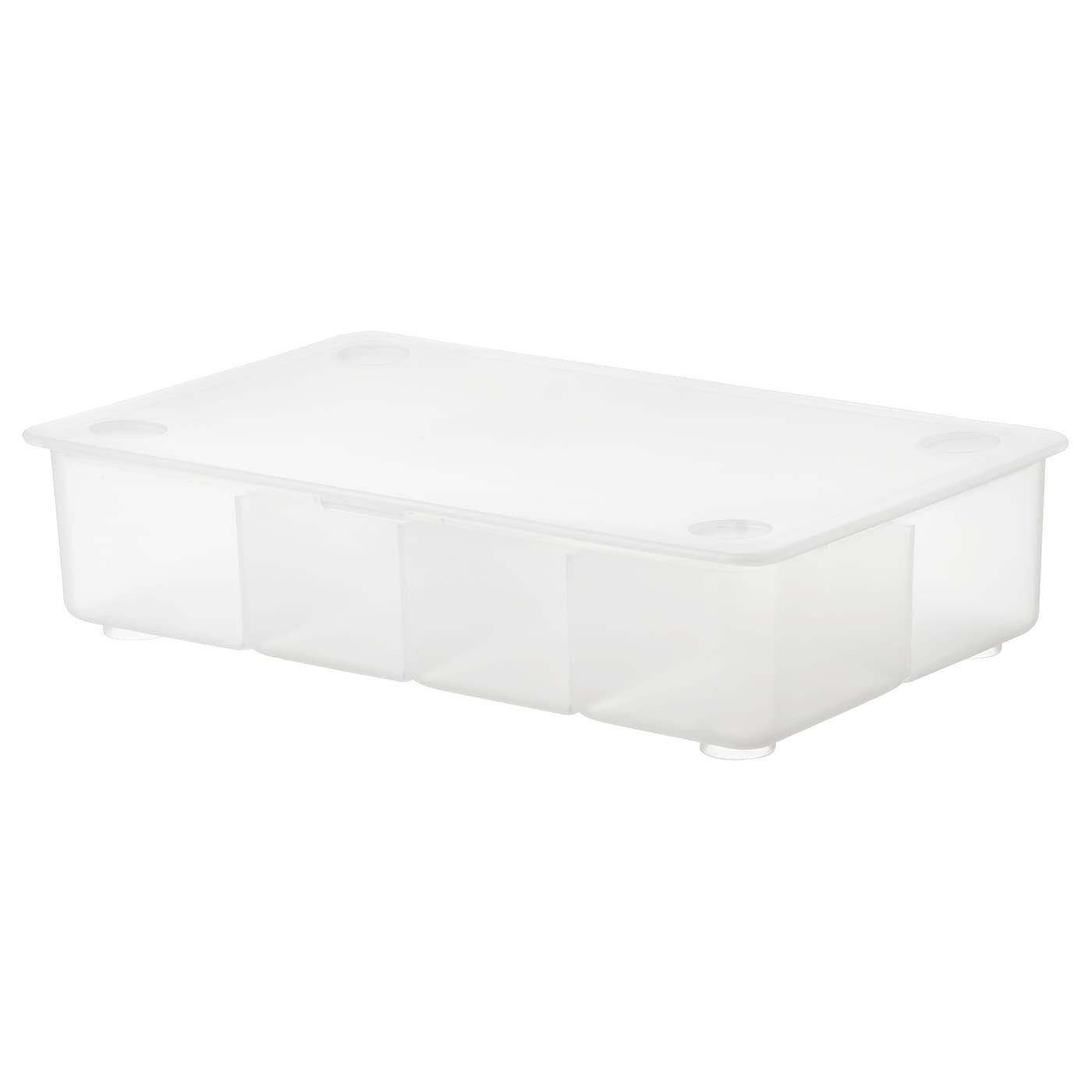 GLIS Box mit Deckel transparent IKEA Deutschland