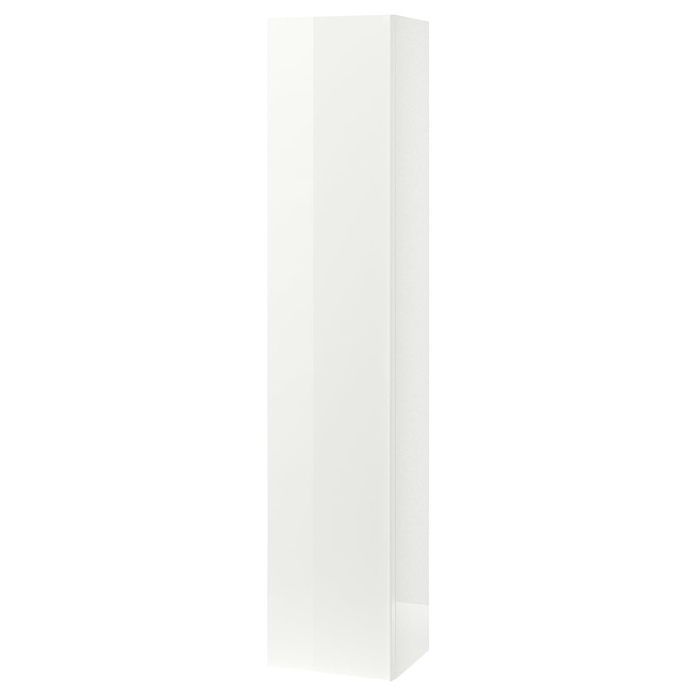 GODMORGON Hochschrank - Hochglanz weiß 8x8x8 cm