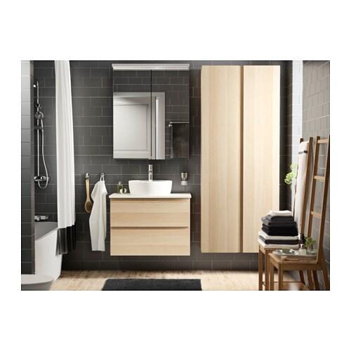 GODMORGON Hochschrank - weiß - IKEA | {Ikea badmöbel godmorgon 45}