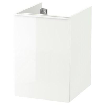 GODMORGON Wäscheschrank Hochglanz weiß 40 cm 47 cm 58 cm
