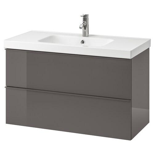 IKEA GODMORGON / ODENSVIK Waschbeckenschrank/2 schubl.