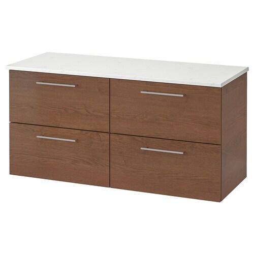 IKEA GODMORGON / TOLKEN Waschbeckenschr./4 schubl.