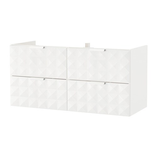 godmorgon waschbeckenschr 4 schubl resj n wei ikea. Black Bedroom Furniture Sets. Home Design Ideas