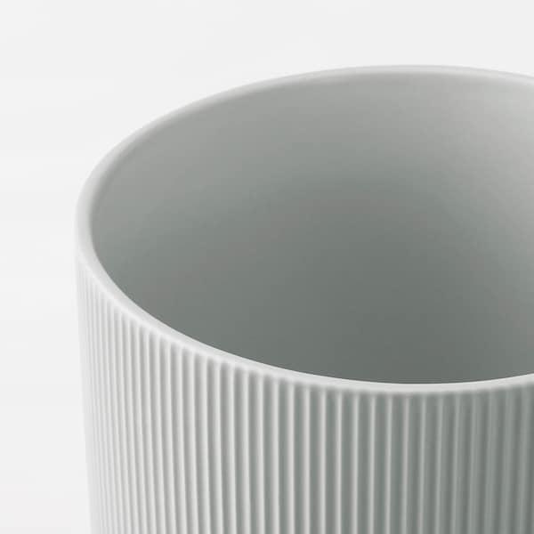 GRADVIS Übertopf, grau, 15 cm
