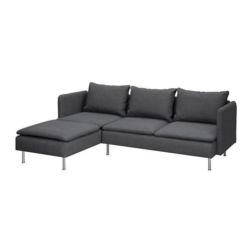 gr vsta 2er sofa mit r camiere ikea. Black Bedroom Furniture Sets. Home Design Ideas
