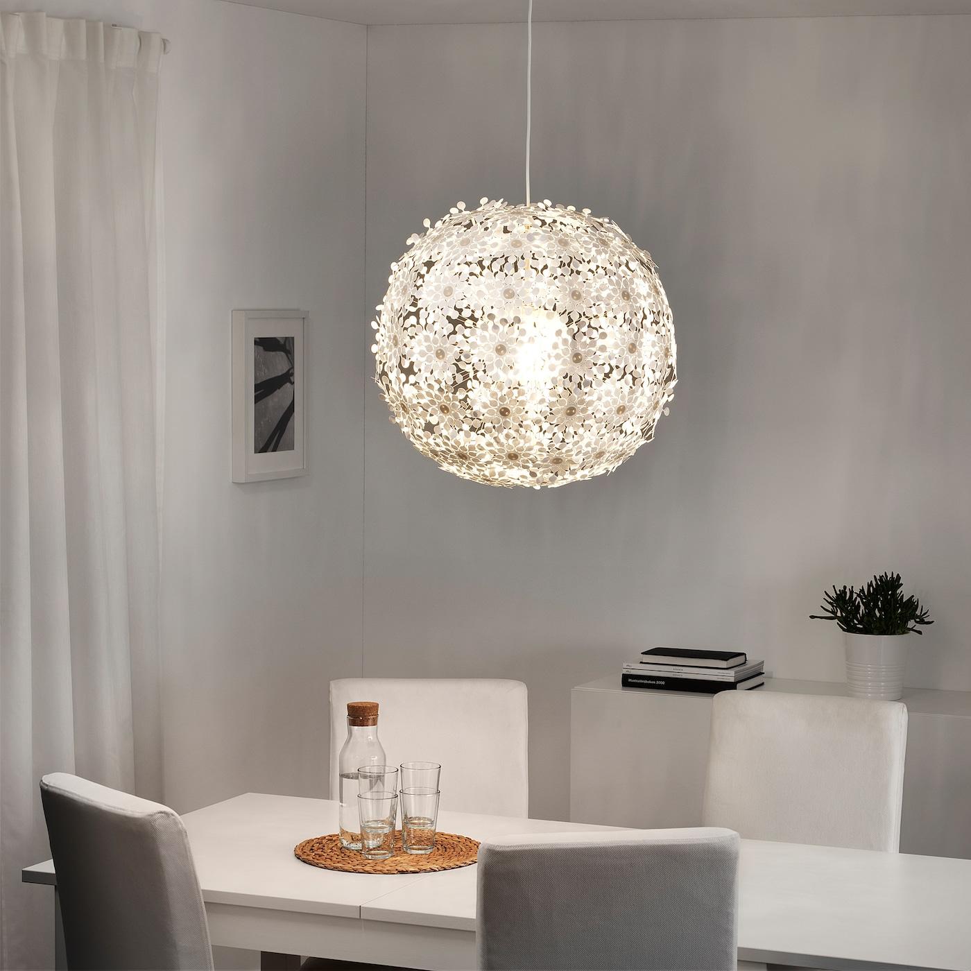 GRIMSÅS Hängeleuchte weiß 55 cm