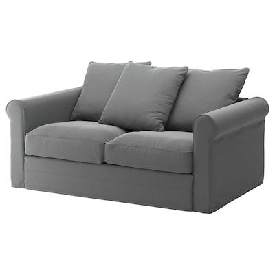 GRÖNLID 2er-Sofa, Ljungen mittelgrau