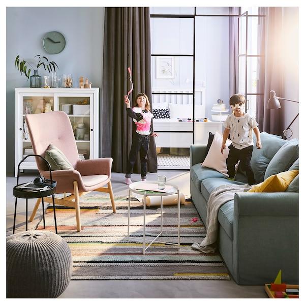 GRÖNLID 3er-Sofa, Ljungen hellgrün