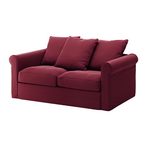 Grönlid 2er Sofa Ljungen Dunkelrot Ikea