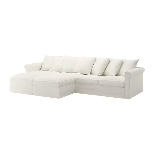 gr nlid 4er sofa mit r camieren inseros wei ikea. Black Bedroom Furniture Sets. Home Design Ideas