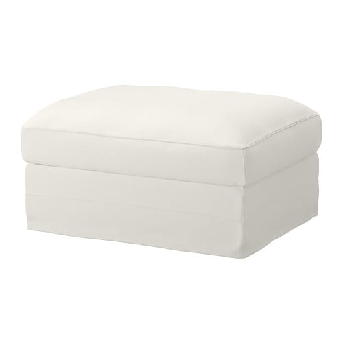 gr nlid hocker mit aufbewahrung inseros wei ikea. Black Bedroom Furniture Sets. Home Design Ideas
