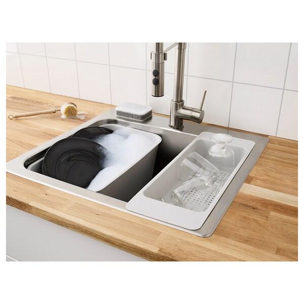 GRUNDVATTNET Spülschüssel, grau