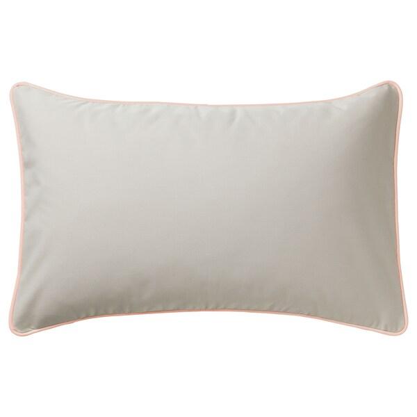 GULLINGEN Kissenbezug, drinnen/draußen/beige, 40x65 cm