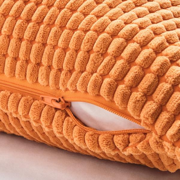 GULLKLOCKA Kissenbezug, orange, 50x50 cm