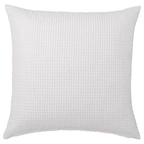 GULLKLOCKA Kissenbezug, weiß, 50x50 cm