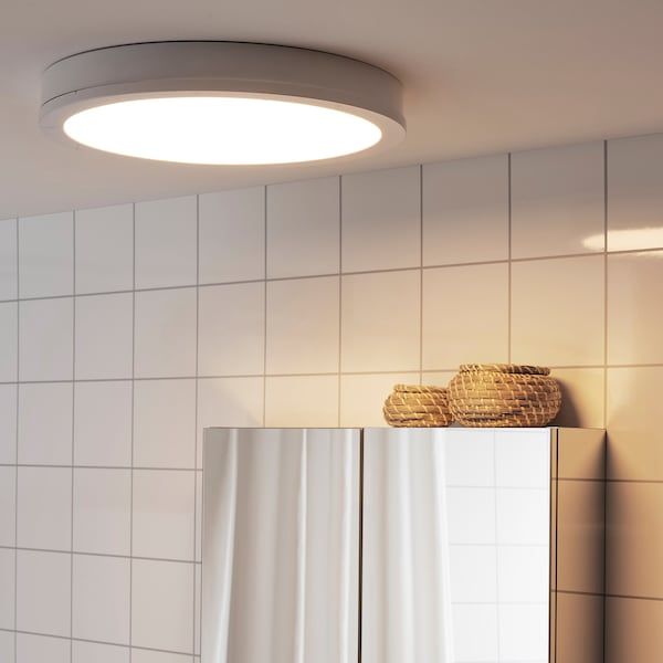 GUNNARP Decken-/Wandleuchte, LED, weiß dimmbar/Weißspektrum, 40 cm