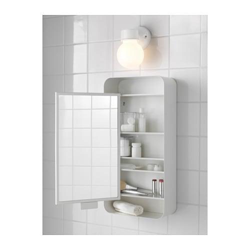 Ikea spiegelschrank  GUNNERN Spiegelschrank 1 Tür - weiß - IKEA