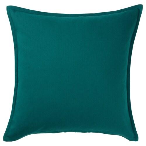 GURLI Kissenbezug dunkelgrün 50 cm 50 cm