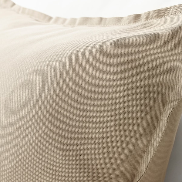 GURLI Kissenbezug, beige, 50x50 cm