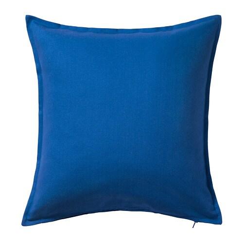 ikea gurli kissenh lle blau dekokissen kissenbezug 50x50. Black Bedroom Furniture Sets. Home Design Ideas