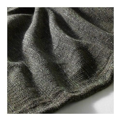 ikea gurli grau gr n tagesdecke 120x180cm kuscheldecke plaid wolldecke neu ebay. Black Bedroom Furniture Sets. Home Design Ideas