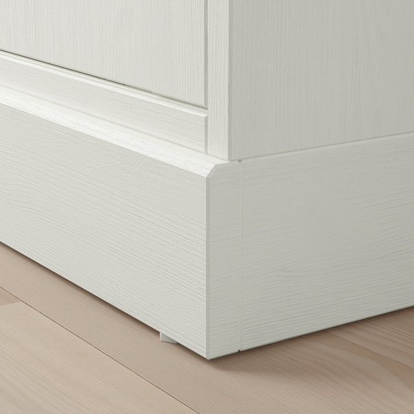 HAVSTA Schrank mit Sockel, weiß, 81x47x89 cm