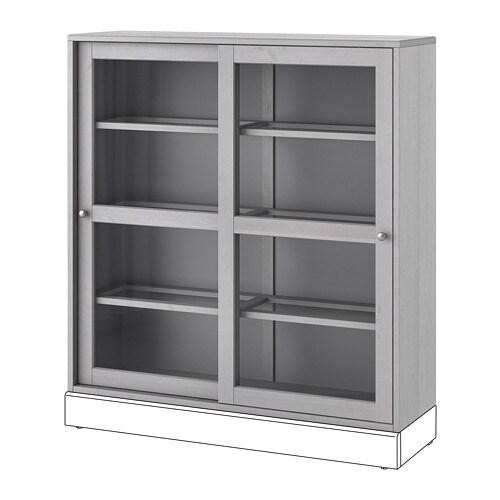 Havsta Vitrine Grau Ikea