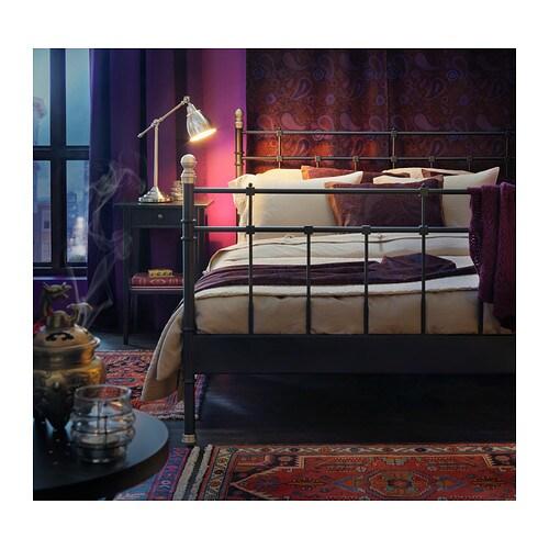 ikea ablagetisch nachtisch nachtschrank schubladentisch kommode tisch schwarz br ebay. Black Bedroom Furniture Sets. Home Design Ideas