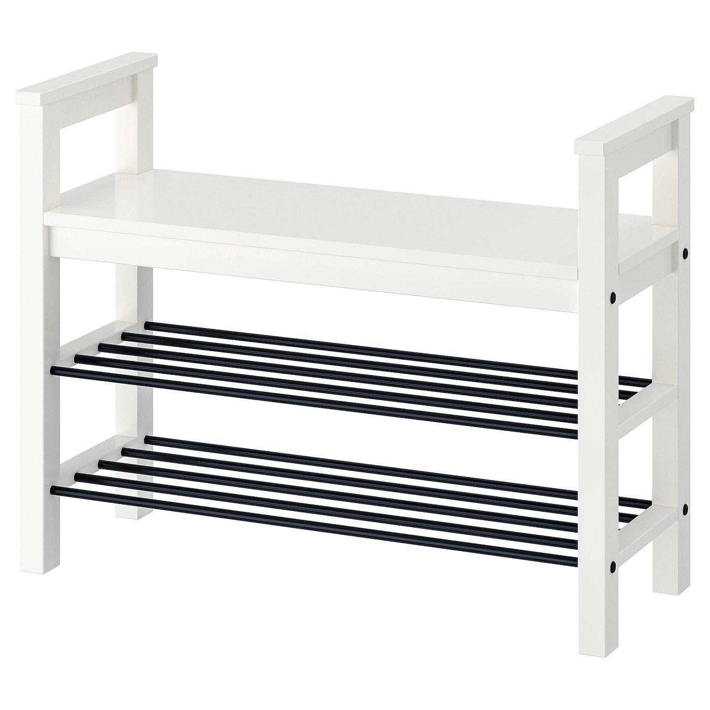 IKEA TJUSIG Hutablage weiß Hutregal Garderobe Hut Gaderobe Hängegarderobe NEU