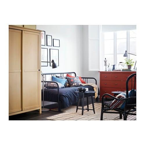 Kleiderschrank ikea hemnes  HEMNES Kleiderschrank mit 2 Schiebetüren - weiß gebeizt - IKEA