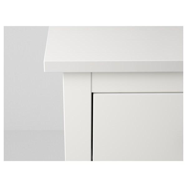 HEMNES Kommode mit 2 Schubladen, weiß, 54x66 cm