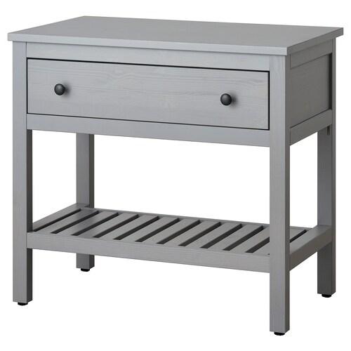 IKEA HEMNES Waschbeckenschrank, offen, 1 schubl