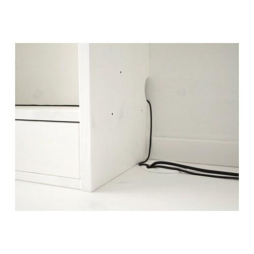 Eckschreibtisch ikea hemnes  HEMNES Schreibtisch mit Aufsatz - schwarzbraun - IKEA