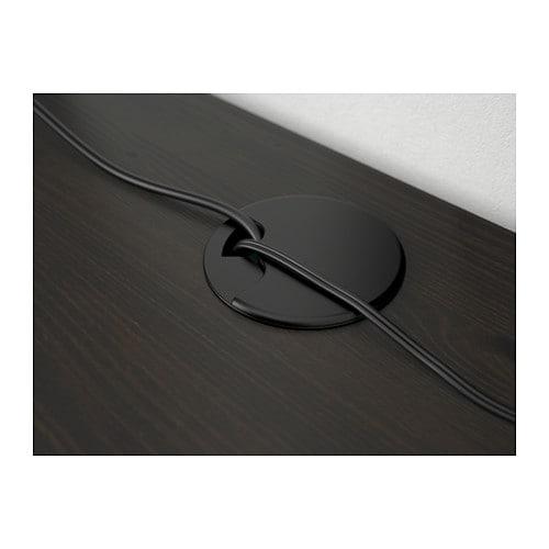 Hemnes Schreibtisch Schwarzbraun Ikea
