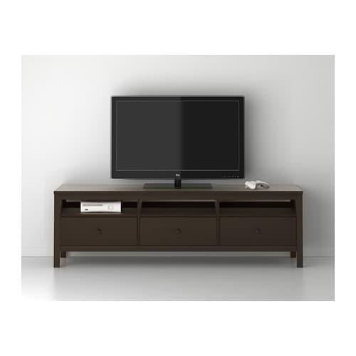 Tv möbel ikea hemnes  HEMNES TV-Bank - weiß gebeizt - IKEA