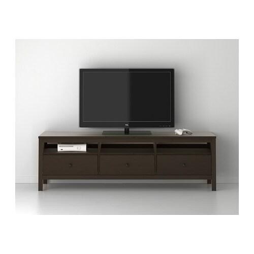 Hemnes Tv Bank Weiß Gebeizt Ikea