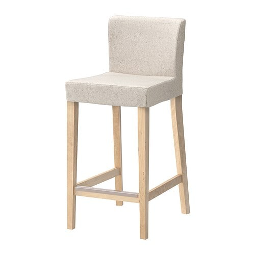 ikea henriksdal barhocker linneryd natur birke 63 cm 0 00 g nstiger bei. Black Bedroom Furniture Sets. Home Design Ideas