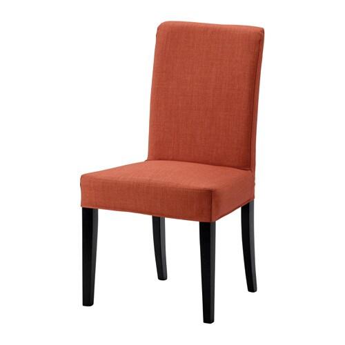 henriksdal stuhl skiftebo dunkelorange ikea. Black Bedroom Furniture Sets. Home Design Ideas